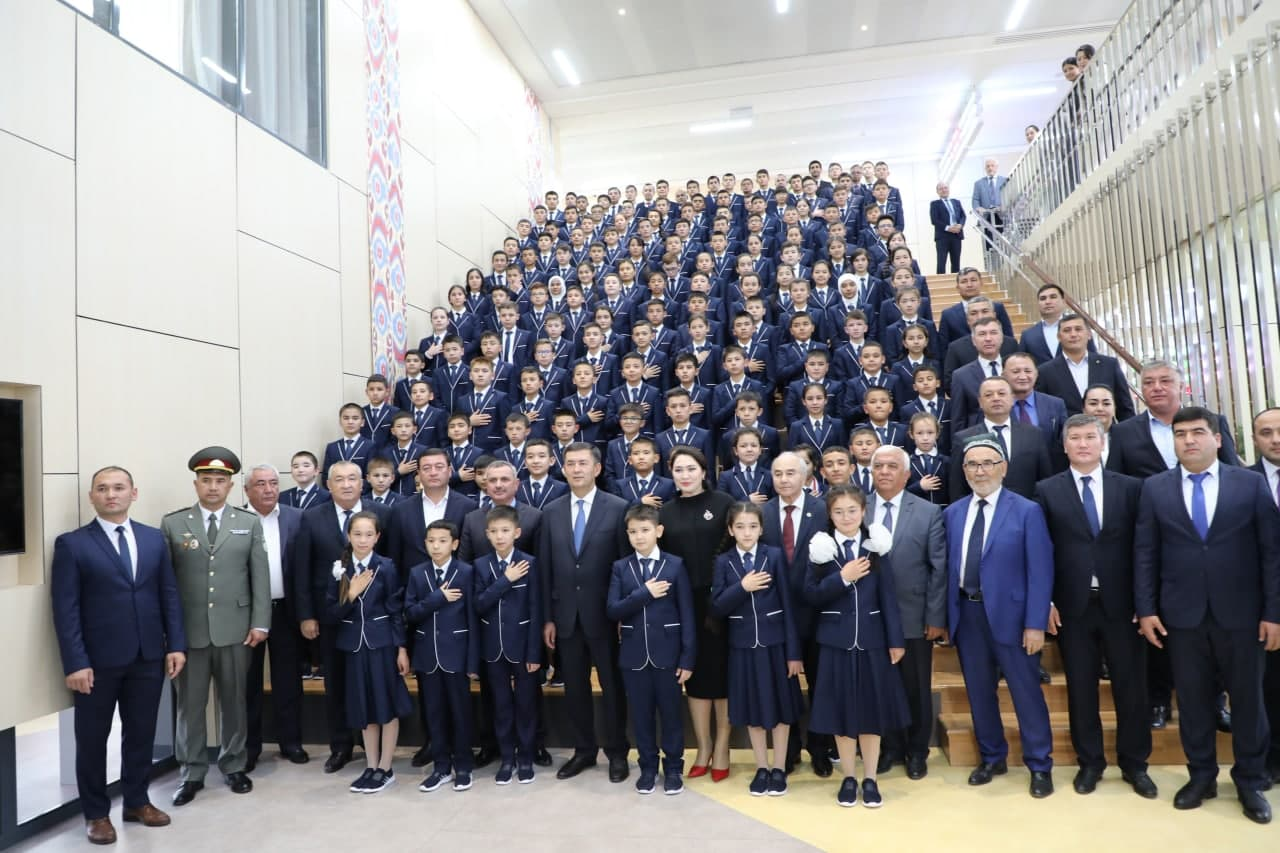 Samarqanddagi Prezident maktabining ochilish marosimi bo'lib o'tdi